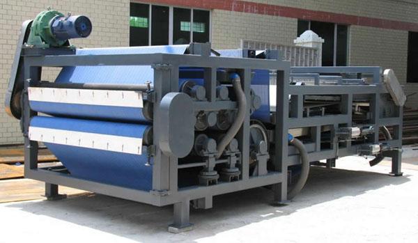 3米带式浓缩污泥脱水机