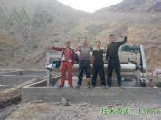 吉尔吉斯斯坦尾矿脱水设备3米设备安装调试中
